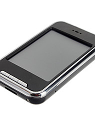 Lecteur MP4 à écran tactile de 2,8 pouces avec TF de soutien d'appareil-photo de carte (8 Go)