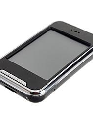 Pantalla táctil de 2.8 pulgadas con reproductor mp4 con Soporte de tarjeta TF cámara (8 GB)