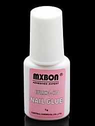 7 грамм MXBON Акриловые Тайвань Искусство Nail Glue с кистью