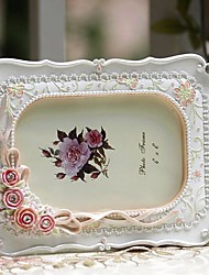 "6"" 7"" 10""Modern European Style Pearl Polyresin Picture Frame"