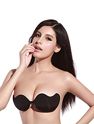 2 Color Sexy Butterfly Invisible Silicone Self Adhesive Push Up Strapless Backless Bras