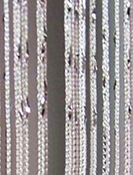 """High Fashion reiner fester Vorhang Line - Zufällige Farben erhältlich (39 """"W x 78"""" L)"""