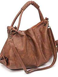 Coco classique simple plissé sac à main (Camel)