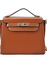 Женская Лук Деталь сумка Сумка PU кожа сумки на ремне