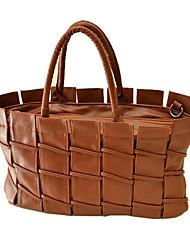 Dazzale-Bag Style Clôture Brown Bag Hobo
