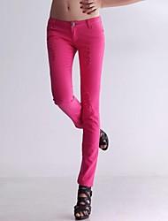 Top vente des femmes Pantalons Silm sexy de couleur de sucrerie Skinny Jeans Pantacourt