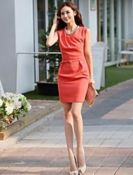 Neue Ankunfts-Sleeveless Lose Formal Dress