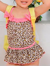 Muchacha encantadora del empalme Leopard Swimwear