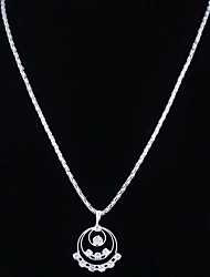 Elegante de la boda cristalino de los pendientes y el collar que la joyería del Rhinestone