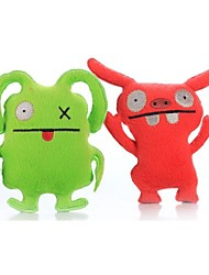 Divertido de la alta calidad de juguetes de peluche Extranjero con Squeaker para perros y gatos (varios colores)