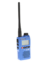 Baofeng UHF / VHF 400-470/136-174MHz 2W doble banda 99 Canales radio de dos vías Walkie Talkie Interphone