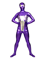 Violet Araignée Unisexe Lycra Spandex Zentai