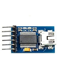 FT232RL USB to Serial Adapter-232-TTL-Modul für Funduino - Blau (3.3 ~ 5V)