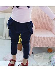 Girl's Bowknot Harem Pants