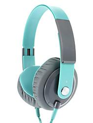 EP12 mode 3.5 mm de Sur-oreille de casque avec micro (vert)