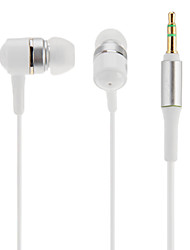 Closed Type Vertical In-the-ear Stereo Earphones for Cell Phones (Assorted Colors)