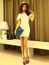 Fashional flaco vestido de las mujeres