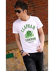 Men's Casual T Shirt With Car Print