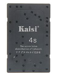 Kaisi отверстия для винтов Распределение Iphone 4 (черный)