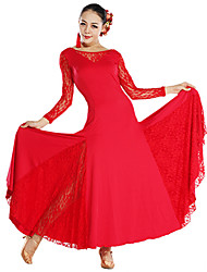 Dancewear Women's Viscose Lace Modern Dance Dress(More Colors)