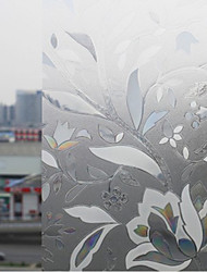 Elegant Bloomming Ice Flowers Window Film