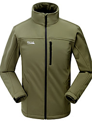 Outdoor respirável Fleece Soft Shell Camping Jacket MAKINO Homens
