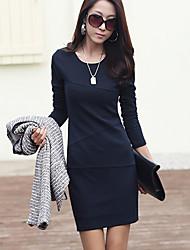 Women's Dresses , Cotton Blend Yours