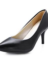 Chaussures Femme - Habillé - Noir / Bleu / Rose / Gris / Beige - Talon Aiguille - Talons - Talons - Similicuir
