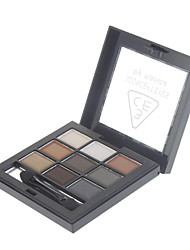 9 Couleur Pearly-lustre Eye Shadow (No.2 couleur)