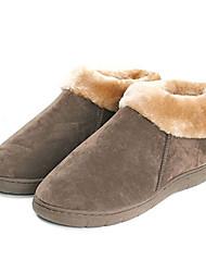 Lässige Solid Color Wolle Herren Slide Slipper - 2 Farben Verfügbare