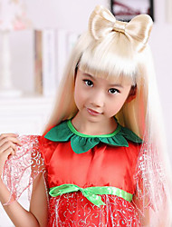 100% Kanekalon Synthetic Lovely Bowknot Design Children's Wig for Festival Party