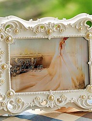 "6""Modern European Style Pearl Metal Picture Frame"