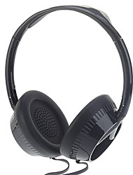 KE-500 Stereo Headphone for Computer/Media Player (White,Black)