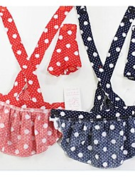 Summer Pet Rabbit Suspenders Skirt
