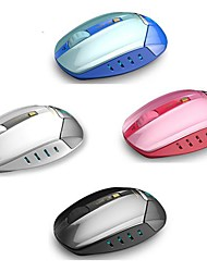 1800 DPI Blue LED  Wireless science Optical Mouse