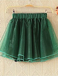 Mujeres crinolina falda de gasa
