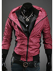 Men's Two Pieces Like Hoodie Jacket