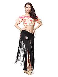 Dancewear das Mulheres Spandex longas borlas Belly Dance Belt (mais cores)