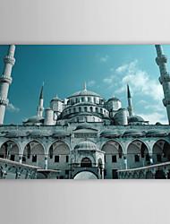 Stampa trasferimenti su tela artistica Paesaggio Moschea Blu, la Turchia