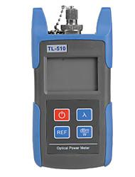 ZnDiy-BRY 1.9'' LCD TL-510 Optical Power Meter -70 ~ +10 dBm com conector SC, FC Por TELECOMUNICAÇÕES Teste