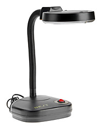 3X 208L Adjustable Magnifier tube Glass Lighting Table Lamp