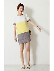 Women's Sweet Loose Short Sleeve Dress