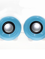 Music-M-33  High Quality Stereo USB 2.0Multimedia Speaker  (Blue)