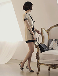 [Milkcocoa] Vrouwen Elegant slank gesneden mini-jurk