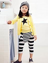 Mädchen-Star Harem Pants 3 Stück Kleidung Sets