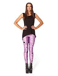 Donna alla moda fluorescenza Skinny Leggings