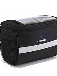 Bike Bag 2LExternal Frame Pack / Bike Handlebar Bag Waterproof / Reflective Strip / Moistureproof / Shockproof / Wearable Bicycle BagPVC