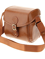 IH288-SBR One-Sholder Bolsa para Câmera / Filmadora (Light Brown)