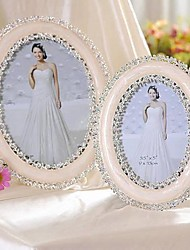 """5"""" 7"""" Modern European Style Pearl Metal Picture Frame"""