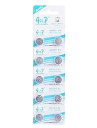 LR1142 AG12/LR43/386/186 1.5V Súper Alcalinas Botón Cell Batteries (10 PCS)